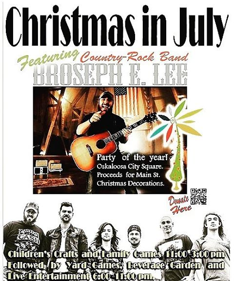 Christmas in July on July 16th is brought to youhellip