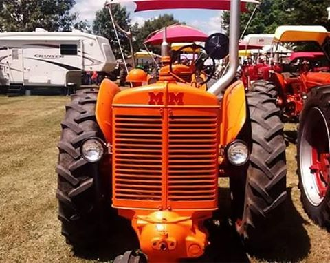 The 20th Annual Great Iowa Tractor Ride is in town!hellip