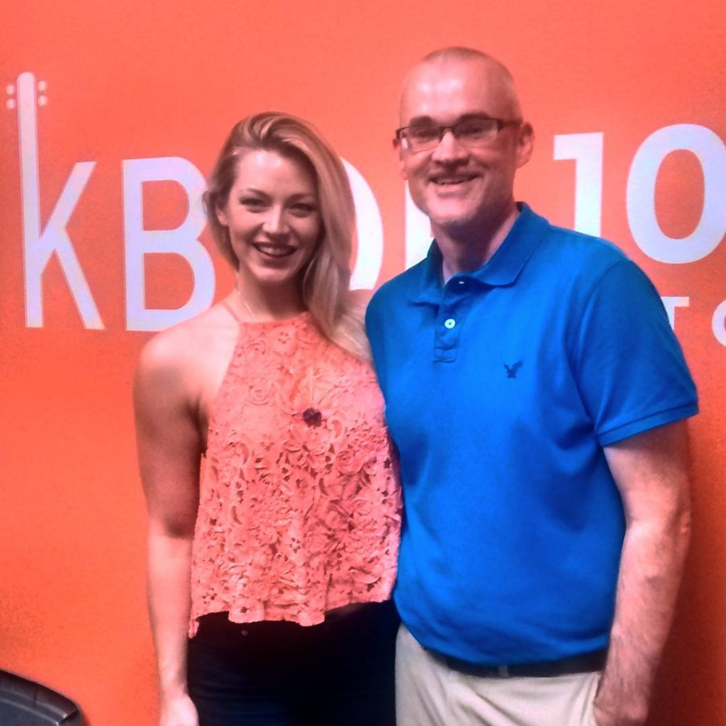 Thanks to rachaeleturner for stopping by the KBOE Studios!