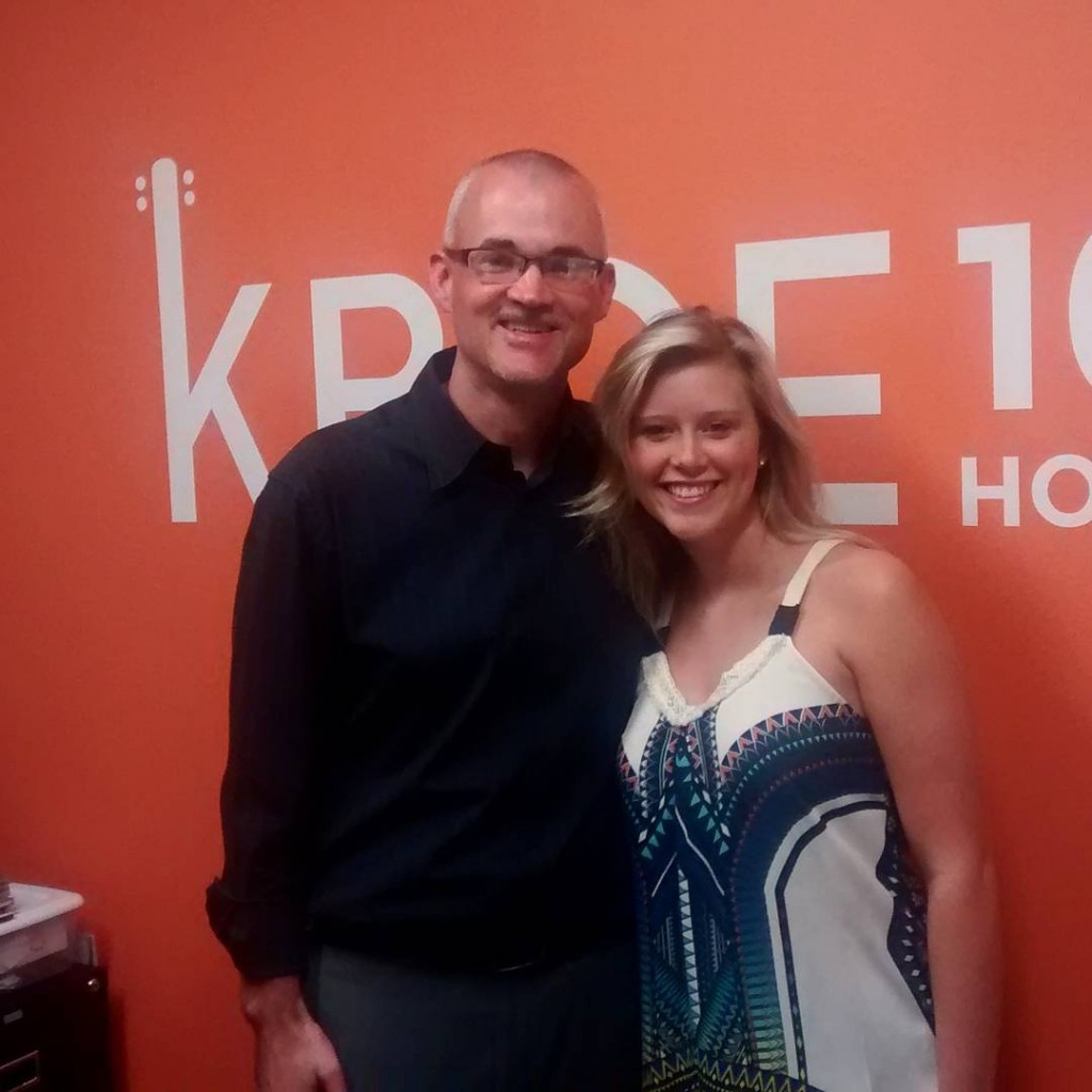 Thanks to kaylynsing4 for stopping by the KBOE Studios!