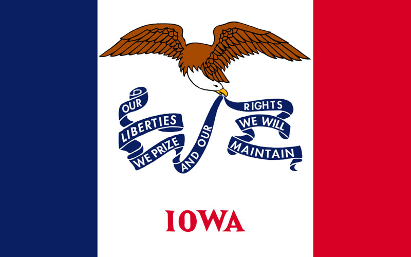 KBOE_Radio_Iowa_Flag