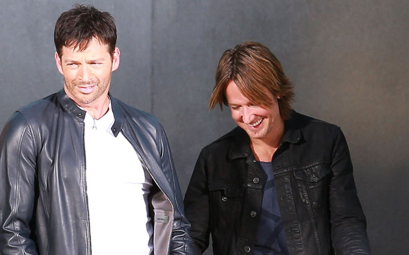KBOE_Radio_Keith_Urban_Harry_Connick_Jr