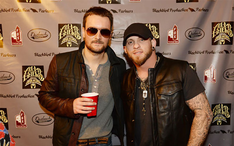 Brantley gilbert gets baby advice from eric church kboe 1049fm brantley gilbert gets baby advice from eric church m4hsunfo