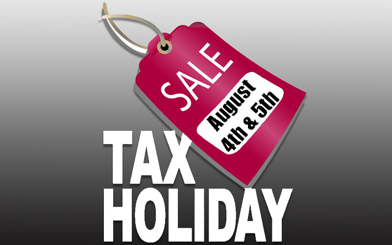 Tax holiday gives residents a break