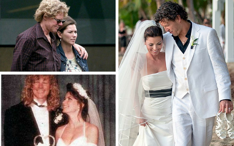 Mutt Lange And Marie Anne Thiebaud Wedding.Shania Twain Marries First Husband Kboe 104 9fm Hot Country