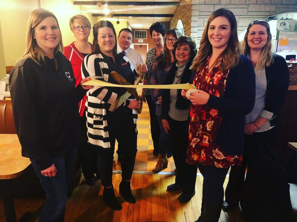 KBOEKMZN sales rep Kate Sterner participated in a ribbon cuttinghellip